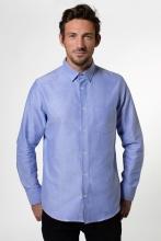 Oxford Hemd mit Button-Down-Kragen - KUYICHI