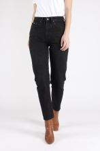 Mom Jeans - Nora Vintage Black - KUYICHI