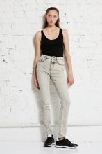 High Waist Jeans - Keira Eco Bleach - wunder[werk]