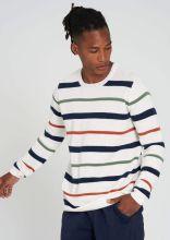 Feinstrick-Pullover Stripes - recolution