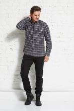 Flanellhemd mit Button-Down-Kragen - wunder[werk]